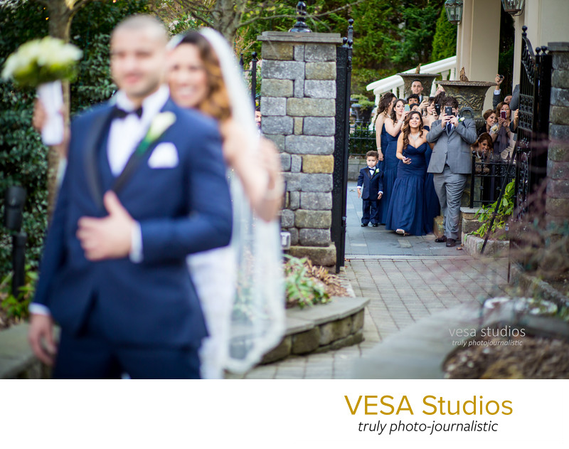 The reveal at the Westmount Country Club