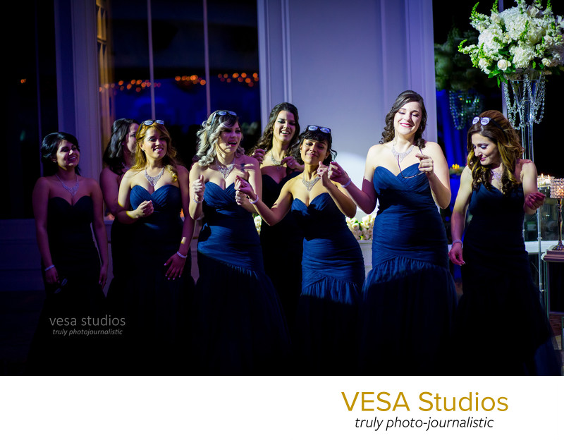 Bridesmaids dancing - Westmount Country Club Wedding