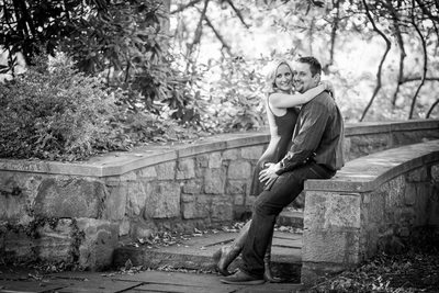 Engagement photography at Skylands Manor