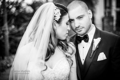 Bride and Groom - Westmount Country Club Wedding