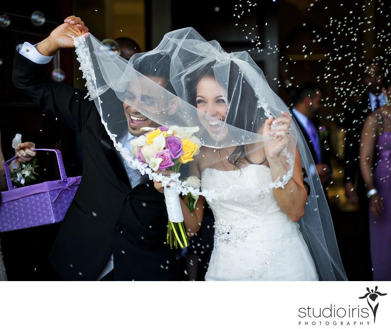 Forest and stream club wedding photos