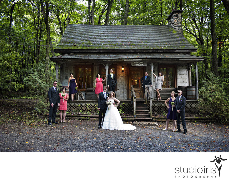 sugar shack wedding