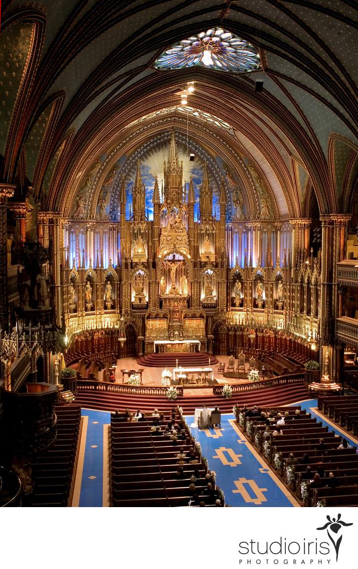 Notre Dame Basilica wedding