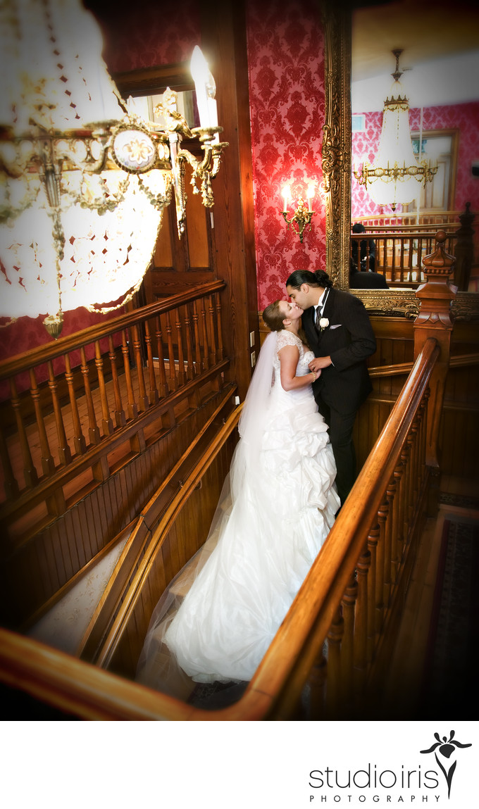 chateau saint antoine wedding pictures