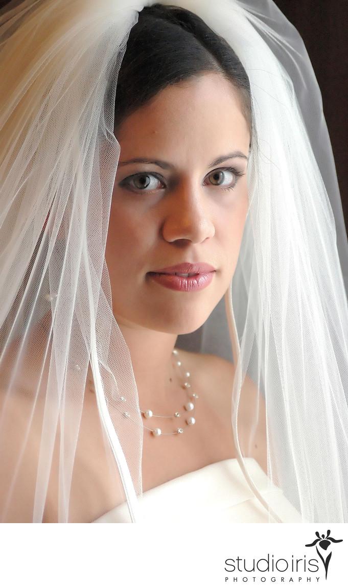 beautiful bride wedding day montreal