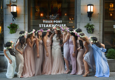 Vieux Port Steakhouse wedding photos