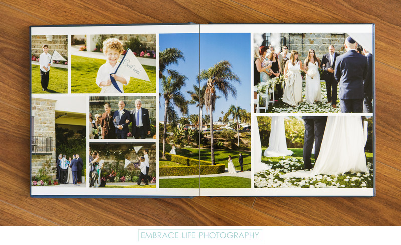 Bel-Air Bay Club Wedding Photography Album