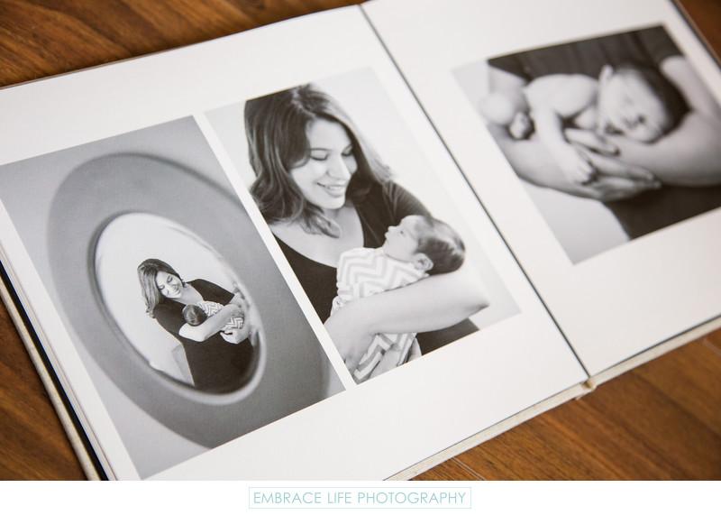 Santa Monica Newborn Photography Coffee Table Book
