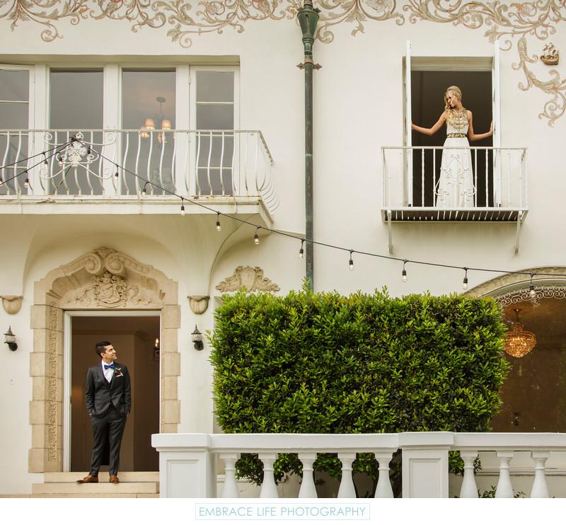 Pasadena Wedding Photographer - Bride & Groom Portrait