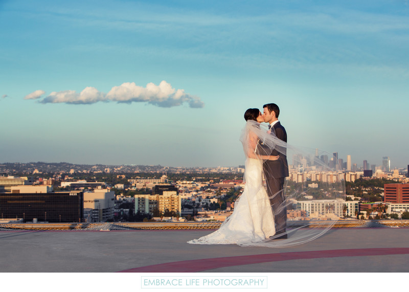 Four Seasons Los Angeles Wedding Photographer