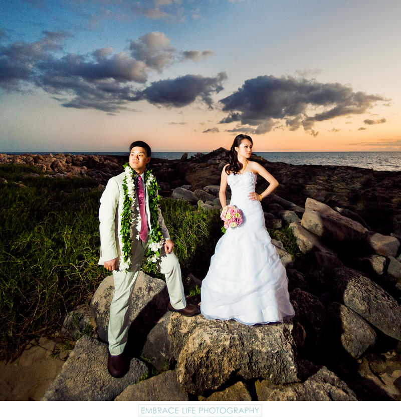 Four Seasons Ko Olina Wedding Photographer Oahu, Hawaii
