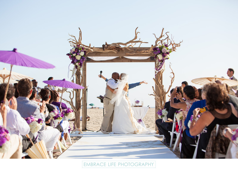 Santa Monica Wedding Photographer Loews Beach Hotel