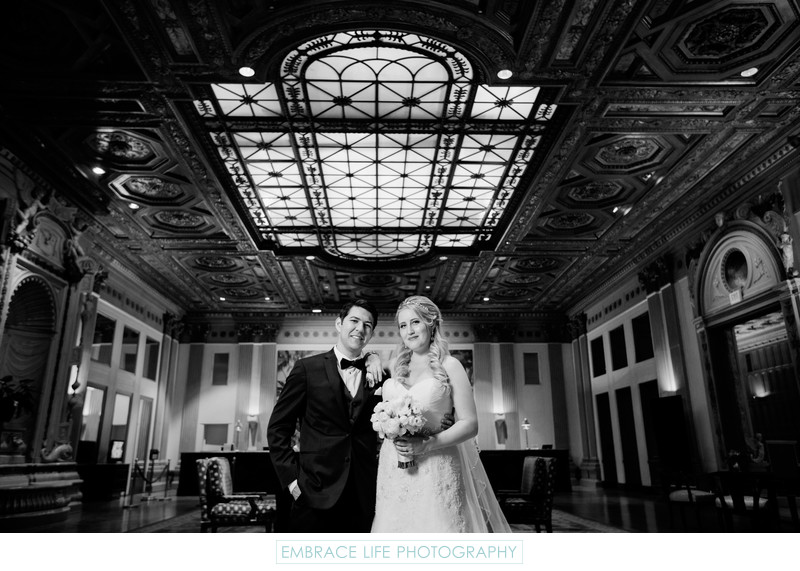 Los Angeles Wedding Photographer Millennium Biltmore