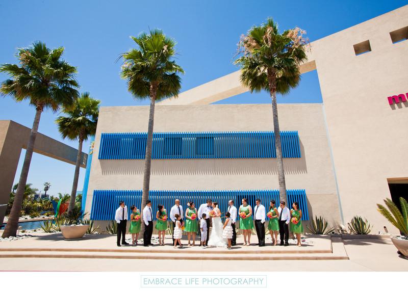 Long Beach CA Wedding Photographer Museum Of Latin American Art
