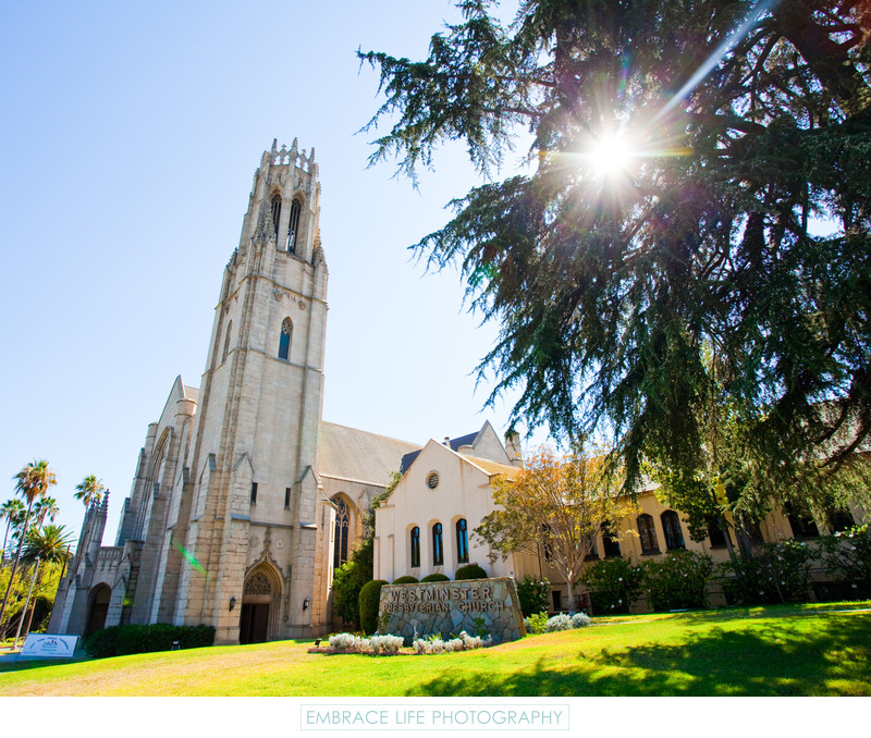 Pasadena Wedding Photographer Westminster Presbyterian
