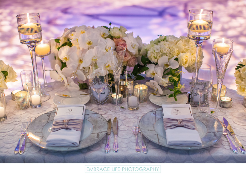 Skirball Center Wedding Reception Sweetheart Table