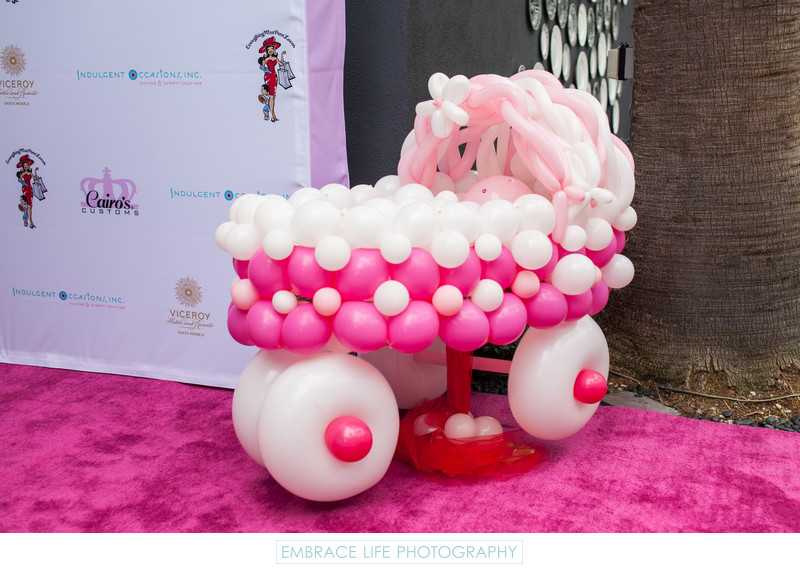 Los Angeles Event - Baby Buggy Balloon Sculpture