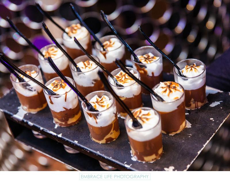 unique party desserts shot glass smores los angeles