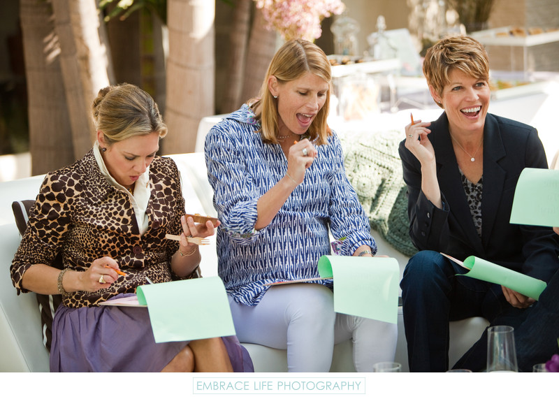 Los Angeles Baby Shower Photographer, Party Game