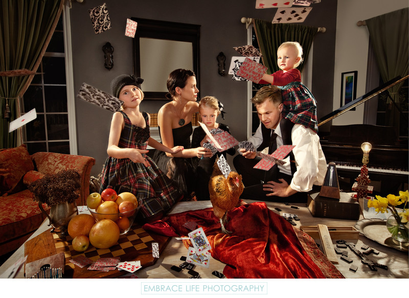 Creative Family Portrait Photography in Los Angeles