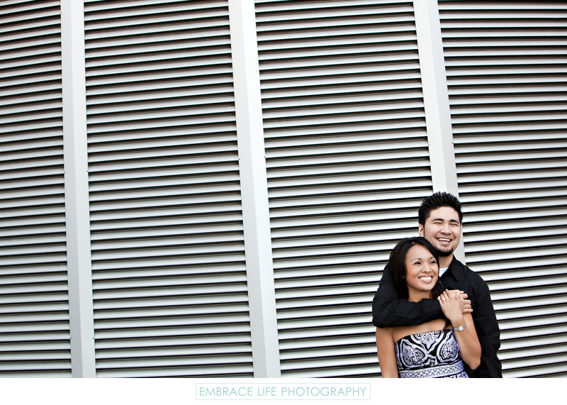 Disney Concert Hall Engagement Photography Session