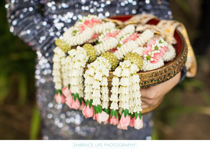 Basket of Flower Garland