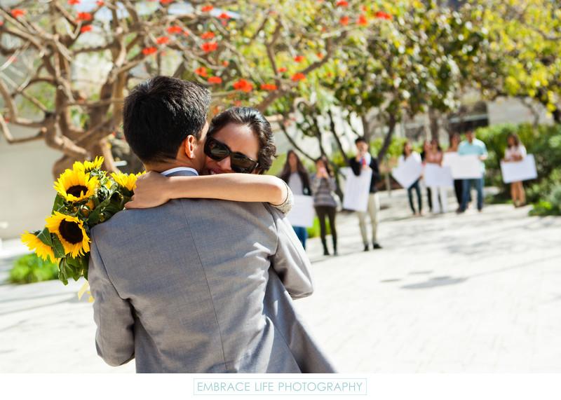 Los Angeles Surprise Proposal Photographer