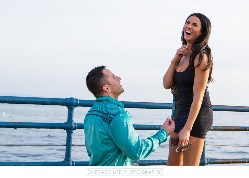 Santa Monica Proposal Photographer