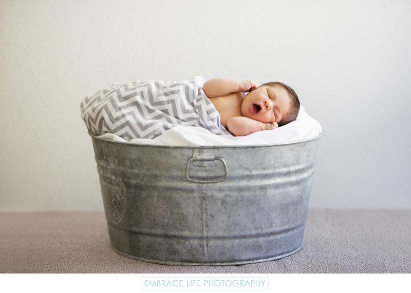 Santa Monica Newborn Baby Photographer