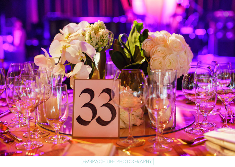 Los Angeles Event Lighting and Centerpiece