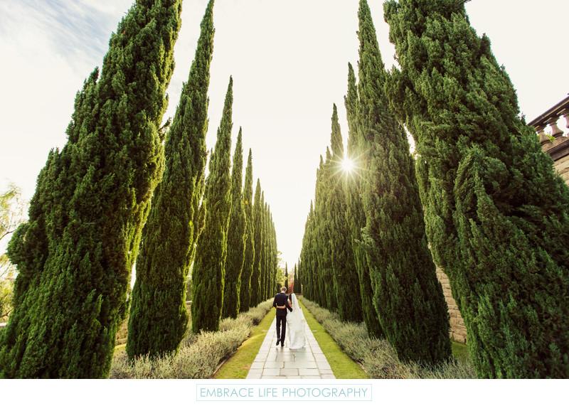 Greystone Mansion & Gardens Wedding Photography