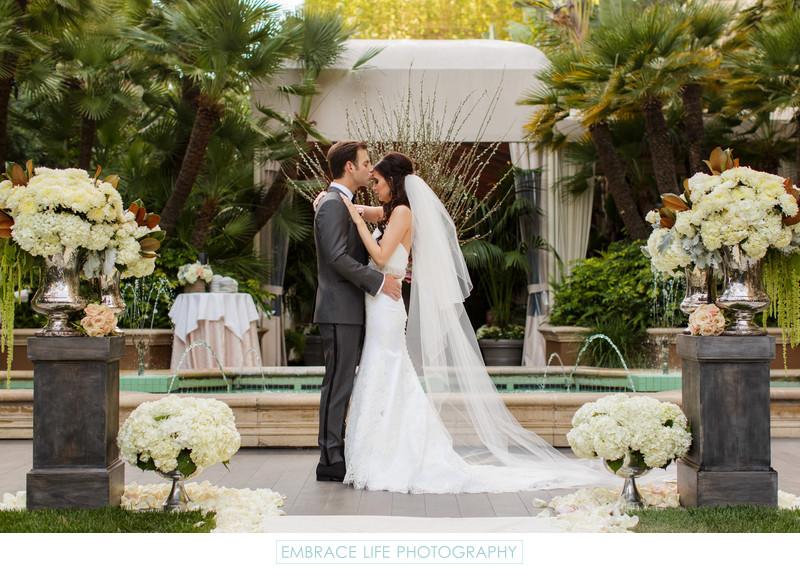 Four Seasons Los Angeles Wedding Photographers