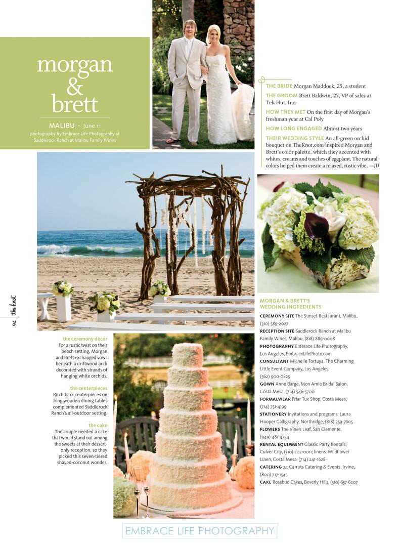 Malibu Beach Wedding Saddlerock Ranch