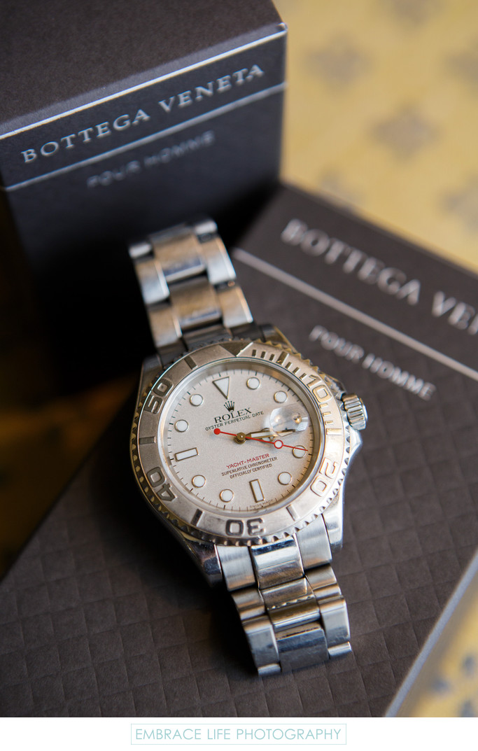 Four Seasons Westlake Village Wedding - Rolex and Gifts
