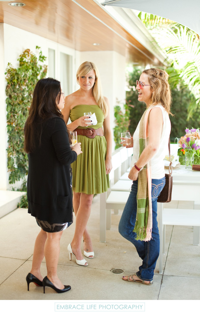 Beverly Hills Baby Shower Party Guests