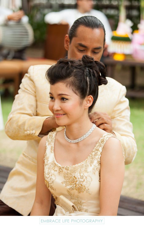 Thai Wedding Dowry Ceremony