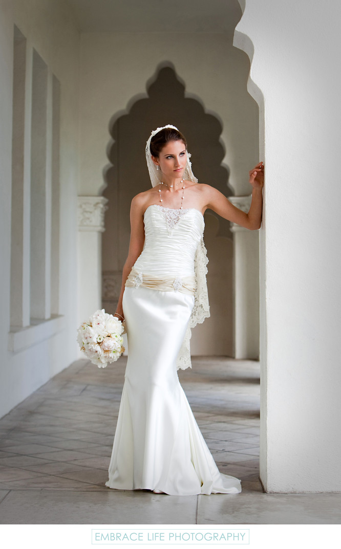 Elegant Bridal Portrait in Glendale, California