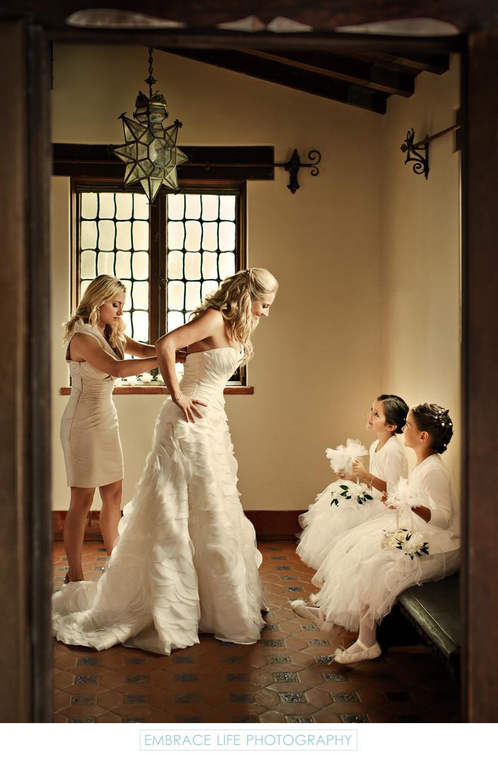 Malibu Wedding Photography at Adamson House
