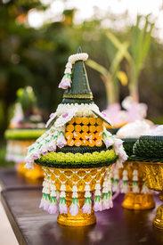 Thai Wedding Ceremony Jewelry Thailand Destination Wedding at