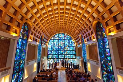 Stauffer Chapel Wedding, Pepperdine University, Malibu
