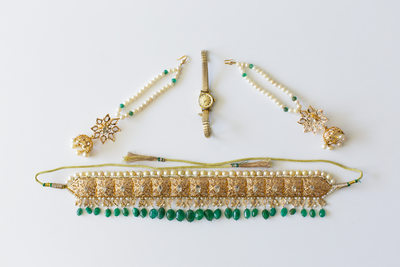 Gold and Turquoise Chow Tai Fook Jewelry