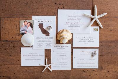L'Auberge Del Mar Wedding Photographer - Stationery