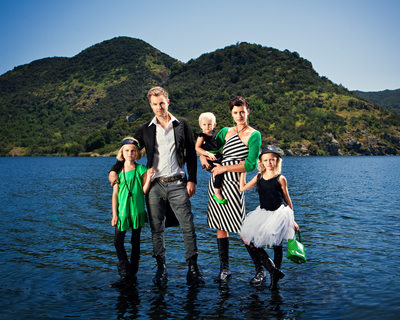 Los Angeles Editorial Family Portrait Photographer