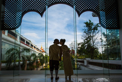 Shangri-La Chiang Mai, Thailand Destination Wedding