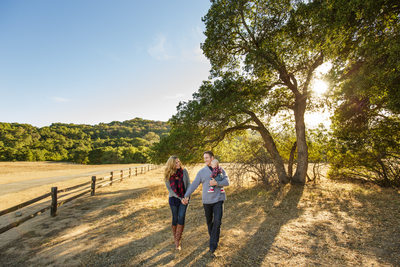 Rustic Family Portrait in Los Angeles