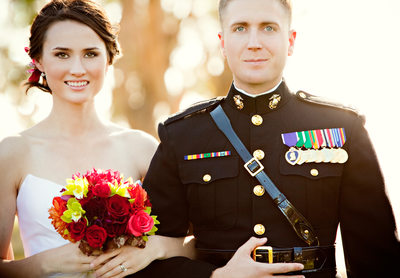 Camp Pendelton Marine Wedding Photographer