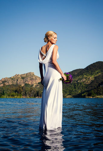 Editorial Bridal Fashion Portrait