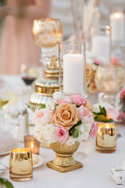 L'Auberge Del Mar Wedding Reception Decor