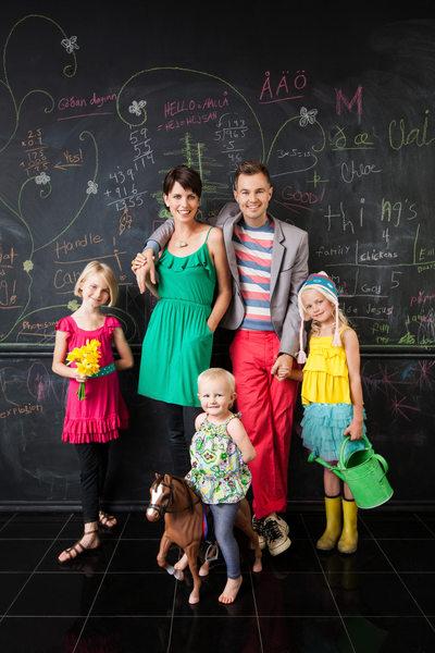 Creative Los Angeles Editorial Family Portrait