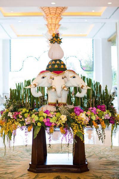 Loi Krathong Decorations in Chiang Mai Thailand